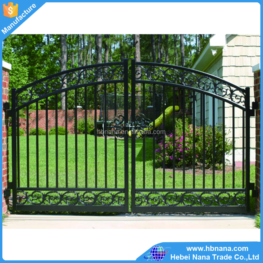 Best sale Aluminum fence gate design / Factory directly supply metal fence and gate