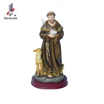 Resin Catholic Religious Statues Wholesale Resin Saint Francis Statue - Buy  Resin Saint Francis Statue,Resin Catholic Statues,Religious Statue Product