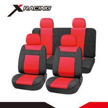 Xracing SC427 good quality waterproof nylon car seat covers clear plastic car seat cover