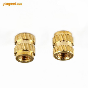 China factory OEM flange knurled nut brass nut