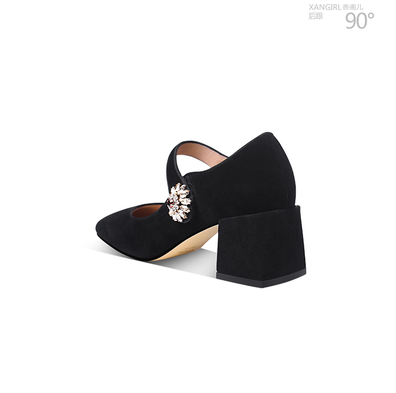jane daily rhinestone shoes oem wear Luxury mary decorated shoes qCPxwX