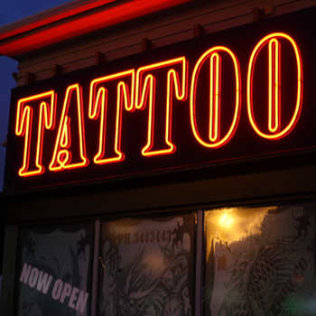 Tattoo shop store led neon light sign buy tattoo shop for Neon tattoo signs