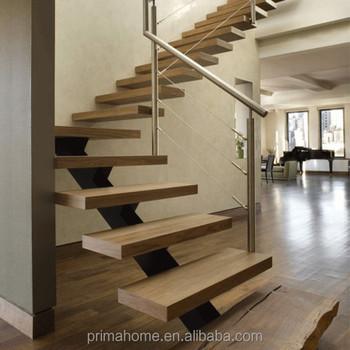 PRIMA Galvanized Steel Stair / Prefab Steel Stair Stringers Price