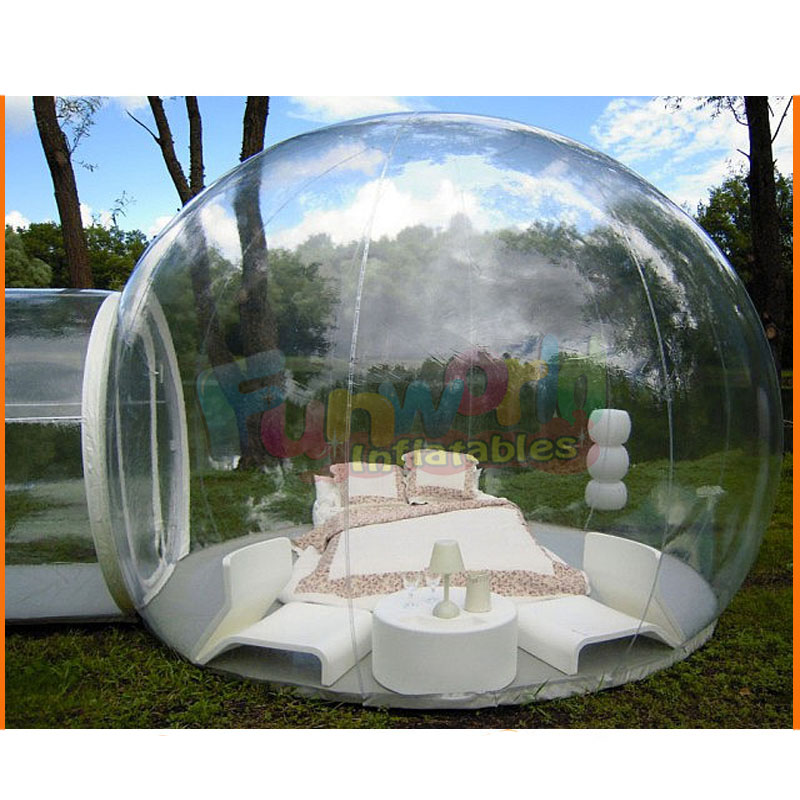 Outdoor inflatable bubble globe inflatable clear bubble tent for advertising