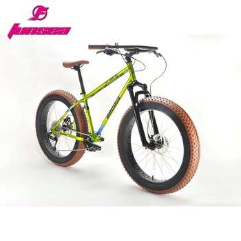 "2019 Hot selling OEM ODM wholesale high quality Aluminum Alloy 26"" fatbike snow tire bicycle bicycle bike snow track fat bike 26"