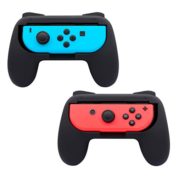 Friendly Ns Console Case Joy-con Controller Transparent Cover With Remote Grip For Nintend Switch Console Joy-con Joystick Crystal Shell Video Games Cases