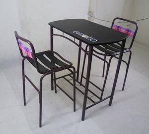 New-design KD lovers dining table set
