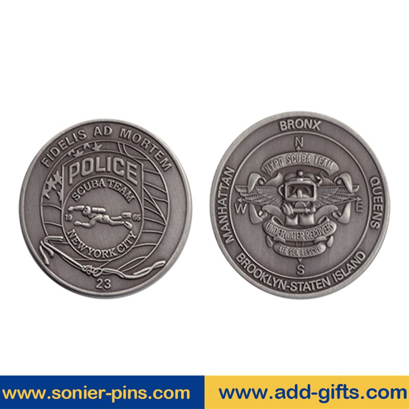 custom zinc alloy challenge coin souvenir coin gold plated tungsten coin