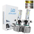 liwiny Car H4 Led Headlight Bulbs Led Head Light H1 H7 H11 Led For Car Auto Motorcycle H4,C6 Led Headlight Bulbs
