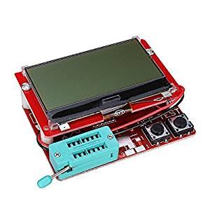 Generic 12864 LCD Mega328 Transistor Tester Capacitance ESR Meter Diode Triode MOS/PNP LCR