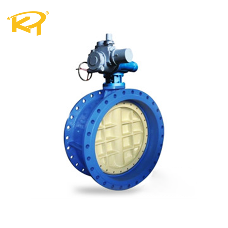 28 Inch 150LB RF Ggg40 Gearbox Butterfly Valve