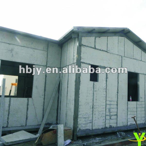 Green and easy construction prefab house