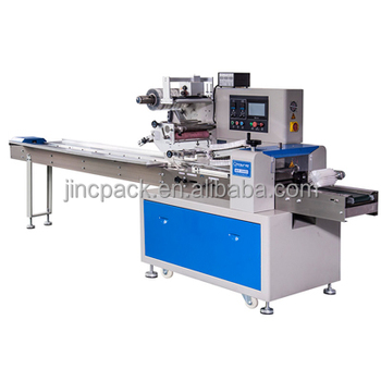 Hygienic standard Machine packing Waffle pillow filling machine