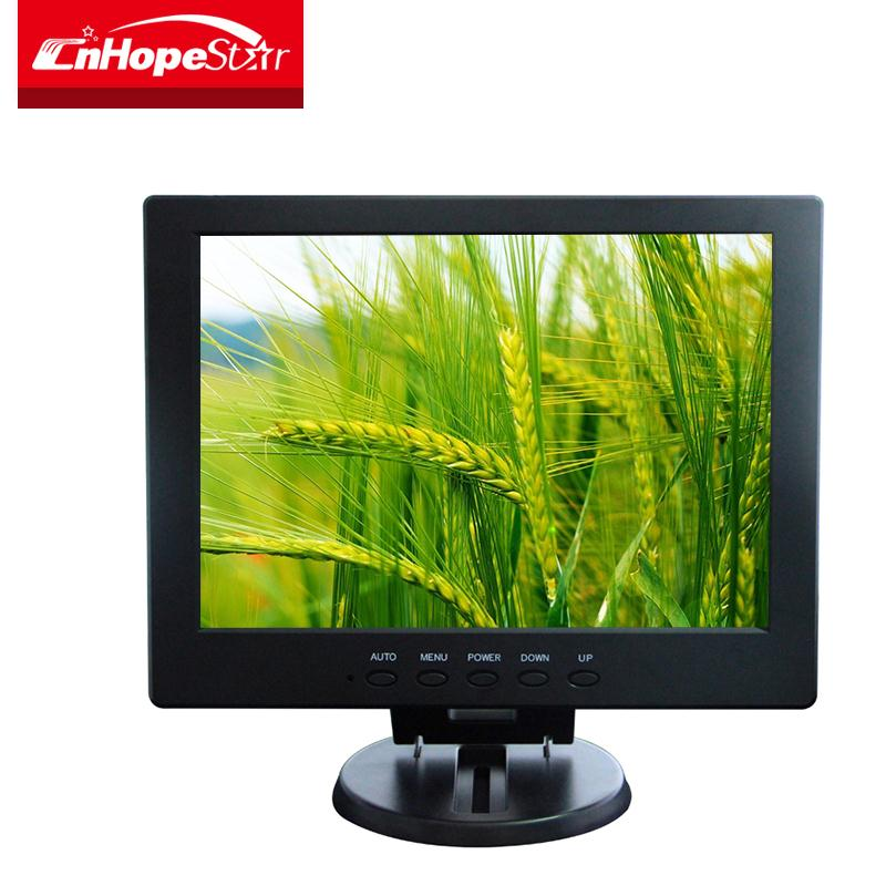 Pc stand portable 10 inch car lcd monitor with 12v