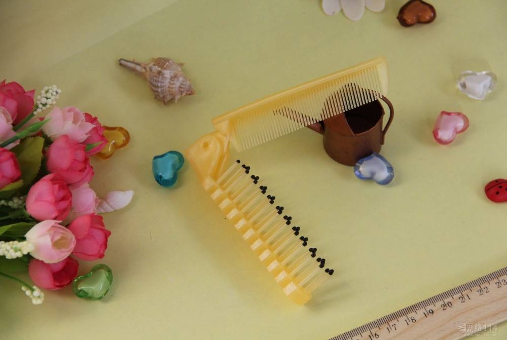 Hotel disposable hair combs/Hotel toiletries unti-transparent comb