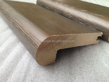 Grey Dove Wood Flooring Stair Nosing / Solid Wood Stair Nosing
