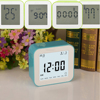 Novelty personalized flip calendar clock,day date week gift digital Rotated calendar alarm clock with timer/flip weekly clock