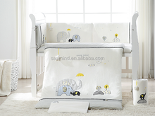wholesale comforter sets bedding 7 pieces baby crib bedding set