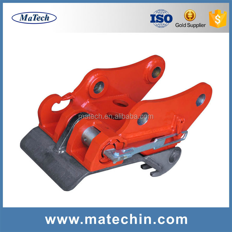 Custom Made Hydraulic R22 Quick Hitch Coupler For Excavator