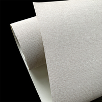 Project engineering vinyl cheap wallpaper with light color eco-friendly