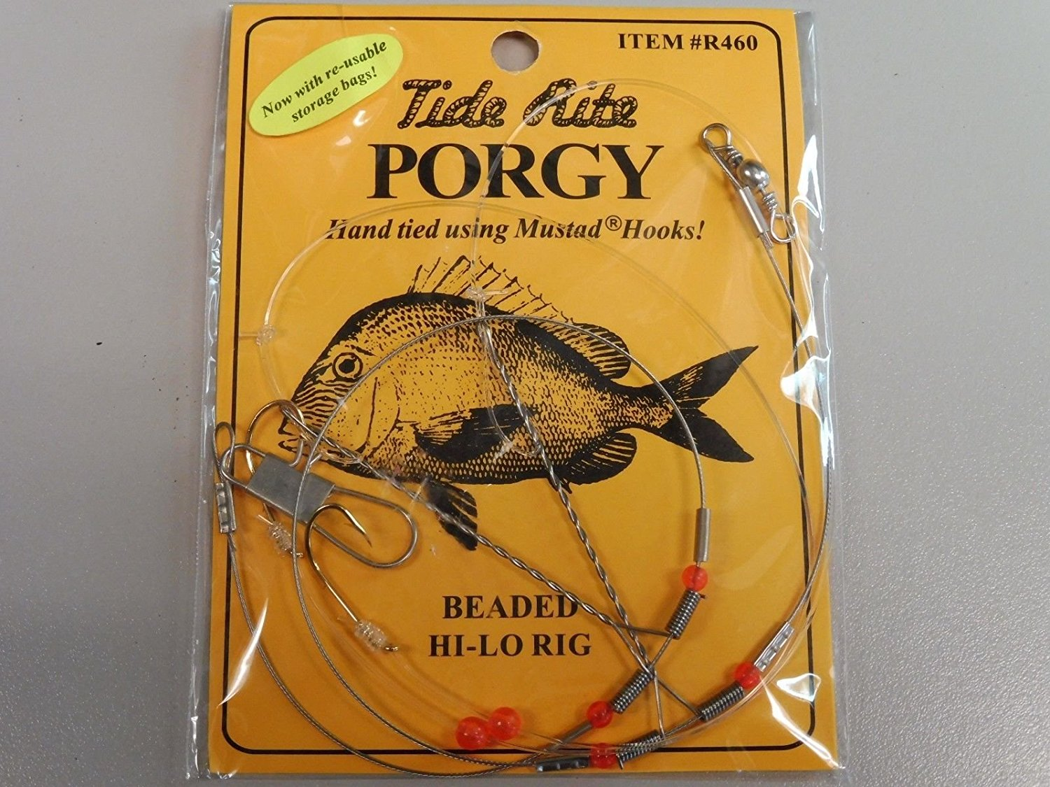 pack scup 6 Porgy Rigs Seven Rig