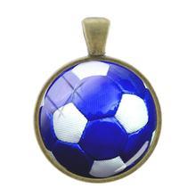 JOINBEAUTY, подвески для игры в волейбол, в виде стеклянных самоцветов, подвеска для ключей, ожерелье, аксессуары, украшения SP684(Китай)