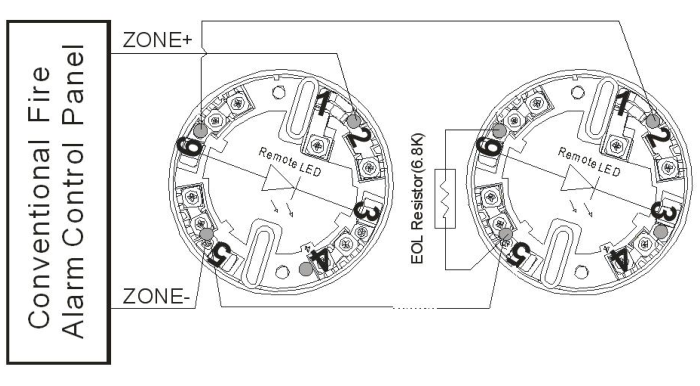 as-sd102 conventional 2-wire smoke detector
