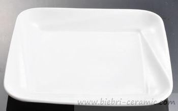 Plain White Ceramic Porcelain Square Custom Design Dessert/Bread/Salad/Dinner Service Plates & Plain White Ceramic Porcelain Square Custom Design Dessert/bread ...