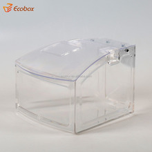 China factory custom retail store acrylic candy bin with scoop