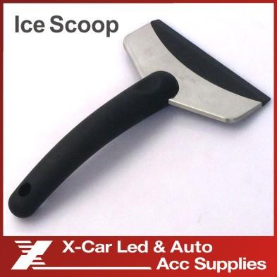 Новый мини-автомобиля скребок / снег скребок лопатой удаление аварийного лопата авто чистый инструмент цвет черный
