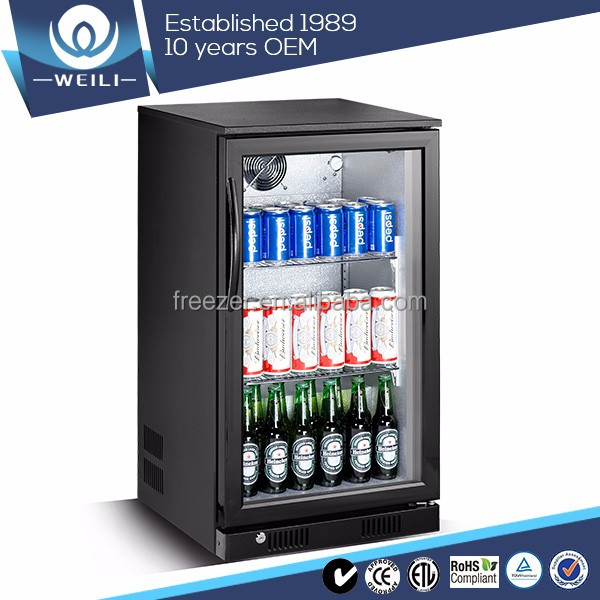 product detail  top sale beer counter table mini bar fridge