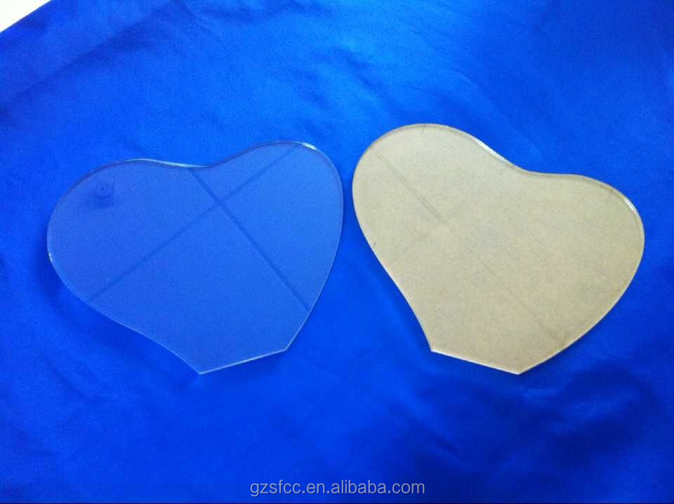 flexible shape acrylic sheet pmma sheet plexiglass sheet