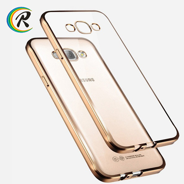 Gold glitter case cover for samsung galaxy j7 for Samsung a3 a3 2016 new phone Electroplating case