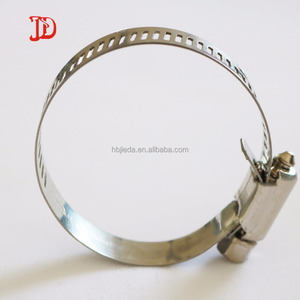 Stainless steel hose clamp round pipe clamp clip on sales