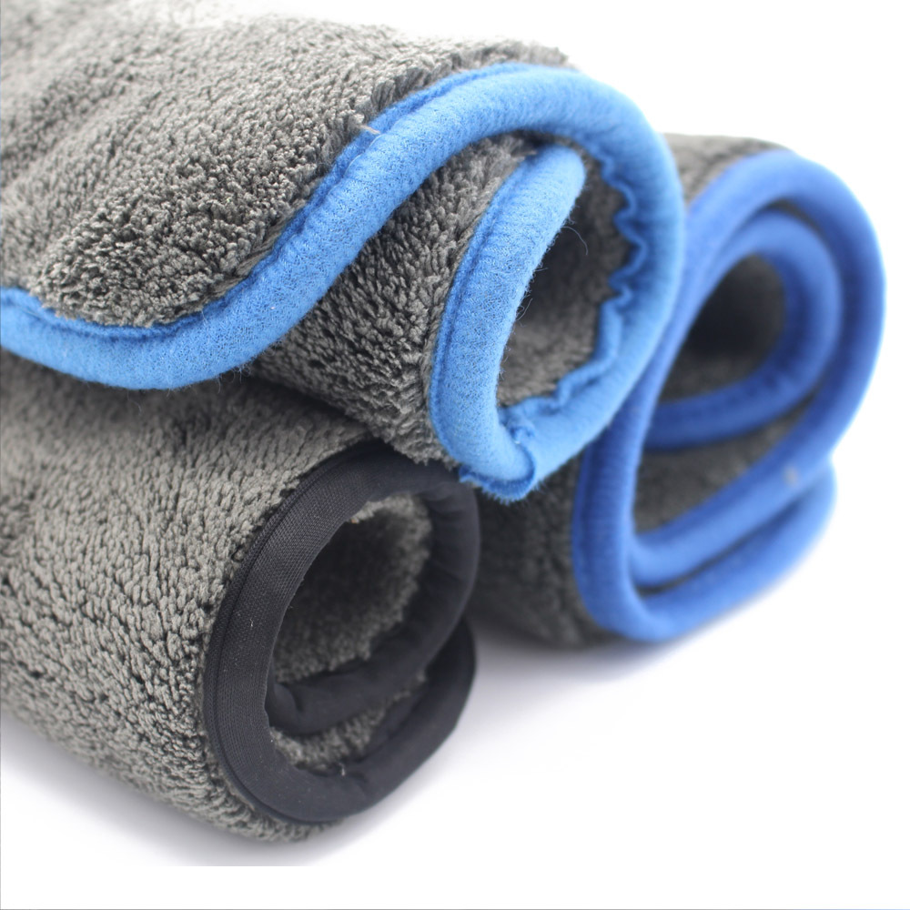wholesale china microfiber car cleaning towels long plush high quality coral fleece towel