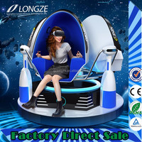 Guangzhou Flight Simulator Electrical Equipment Virtual Reality Ride Chair Playstation 9D Egg Vr Cinema