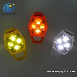 LED Flashing Safety Clip Lamp, Sport Running Security LED Warning Light