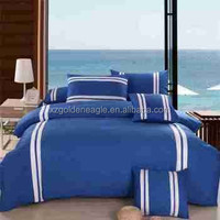 Blue Single Size Children Satin Sheet Set-5pcs