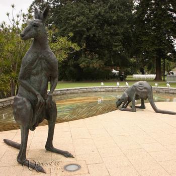 Theme Park Statue Metal Craft Bronze Garden Statues Sculptures