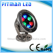 2014 Led Underwater Light 6w for decorative water landscapes