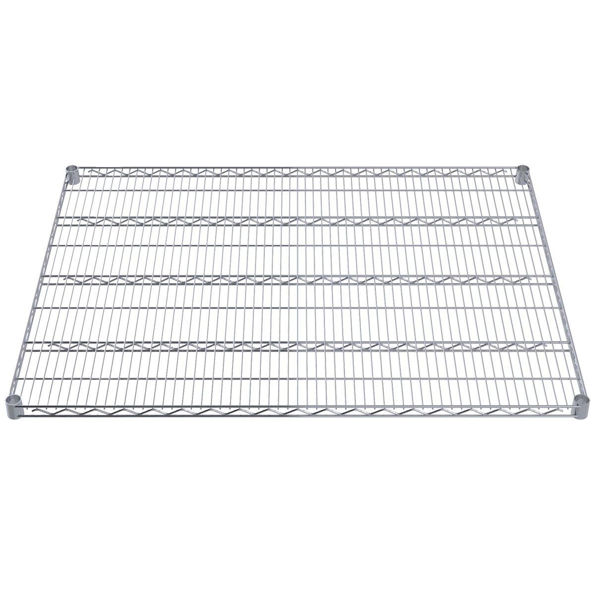 Akro-Mils AWS3648SHELF 36-Inch X 48-Inch NSF Approved Industrial Grade Chrome Wire Shelf, 2-Pack