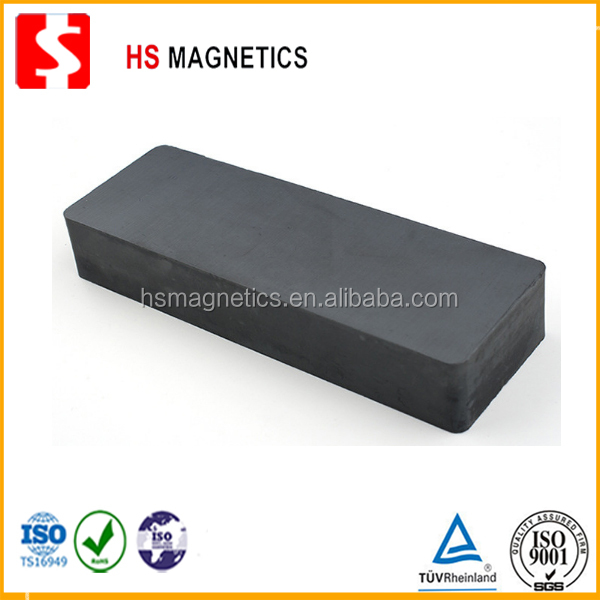 Neodymium block ferrite magnet for sale