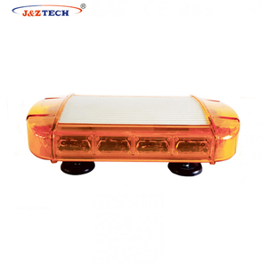 Automobiles 72W Waterproof Dustproof Super Bright Amber Emergency Warning Mini LED Light bar