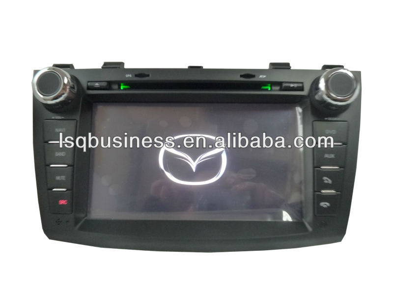 Car accessories for MAZDA 3 2010 with GPS Bluetooth TV Radio fm USB 3G DVD player,ST-8934