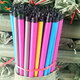 Eco-friendly pvc broom handle threaded with pvc broom stick for dust pan and broom set