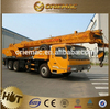 2015 new price N.Traffic 35ton popular truck with arm crane telescopic truck crane(QY35G)
