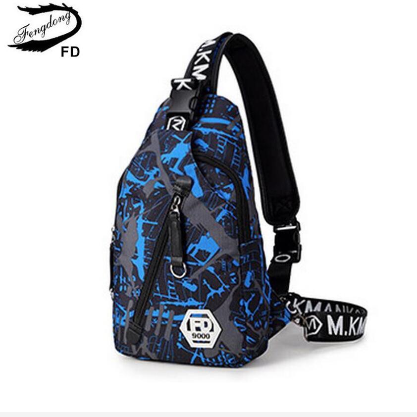 FengDong, маленькие сумки через плечо для женщин, сумки-мессенджеры, мужские повседневные сумки на бретельках, Мужская Мини водонепроницаемая Д...(Китай)