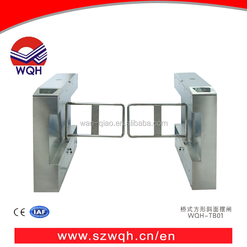 Automatic electric Pedestrian Swing turnstile TB01 with fingerprint attendance system