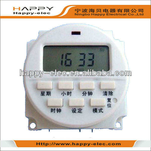 Digital timer switches with LCD display using in billboard,lamp,lights controling
