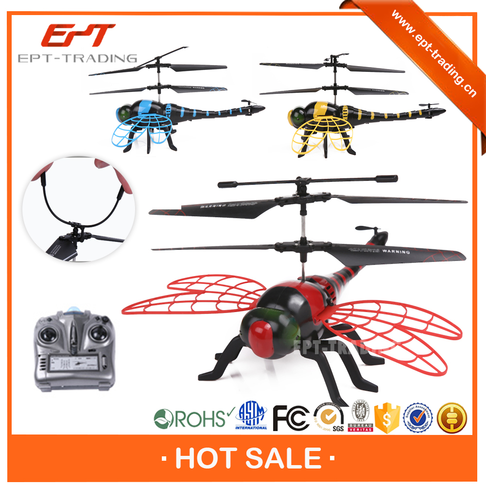 Hot selling 4.5CH plastic fly dragonfly rc helicopter for sale